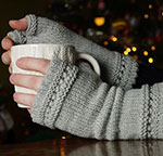 Grey Mitts