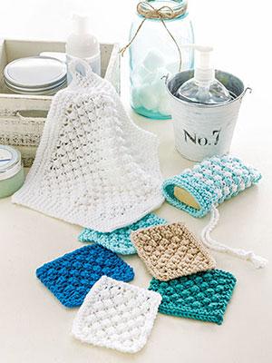 Berry Scrubbies knit pattern