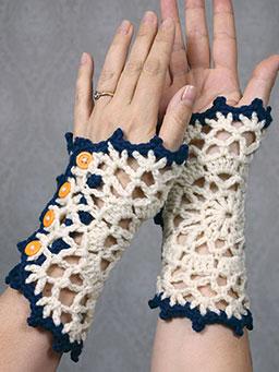 Doily Wristlets