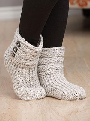 Helix Crochet Boots