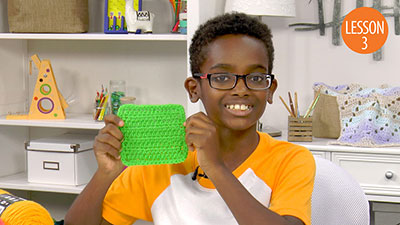 Learn to Crochet With Jonah
